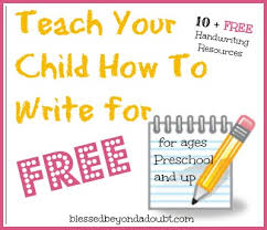 where to find free handwriting worksheets blessed beyond a doubt
