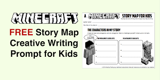 how to write on paper in minecraft minecraft story map for kids creative writing prompt