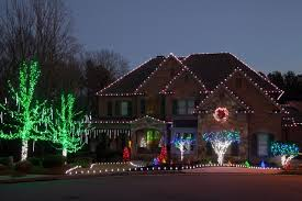 led outdoor christmas lighting traditional exterior atlanta