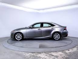lexus used car rates used 2014 lexus is 250 base sedan for sale in miami fl 85052