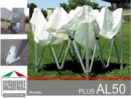 gazebo in alluminio pieghevole it pieghevole alluminio 50mm gazebi pieghevoli
