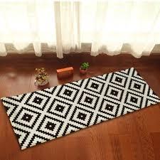 tapis cuisine noir cuisine tapis de cuisine noir et blanc cuisine design et