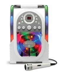 singing machine with disco lights the singing machine karaoke system with led disco lights white