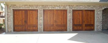 garage doors by cunningham door window prestained cedar design 31 on steel