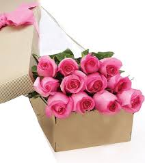 roses online 1 dozen pink stem roses in a box online order to philippines