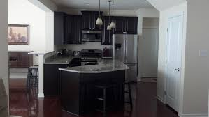 furniture awesome espresso kitchen cabinets with island also
