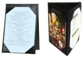 Table Tent Holders by Restaurant Menu Covers Hotel U0026 Restaurant Supplies Made In Usa
