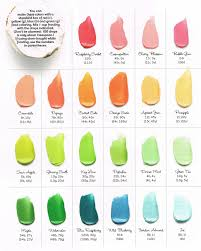 have you seen this unbelievably helpful frosting color guide it