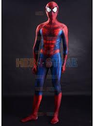 spiderman costume halloween costumes for men spandex