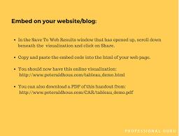 tableau visualization tutorial tableau public tuorial create visualization professional guru