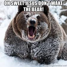 Sweet Jesus Meme Generator - oh sweet jesus don t wake the bear clean cocaine bear meme