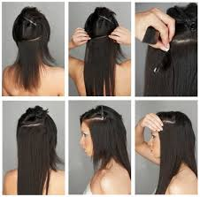 extensions clip in clip in hair extensions vs hair extensions zala hair