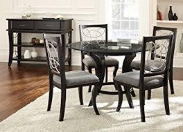 30 x 48 dining table amazon com steve silver company cayman dining table 48 x 48 x