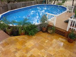 Small Backyard Pool by Triyae Com U003d Small Backyard Landscaping Ideas With Above Ground