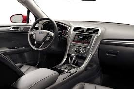 2011 Ford Fusion Interior 2014 Ford Fusion Se 1 5 Ecoboost Epa Ratings Revealed
