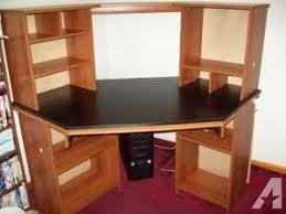 nice big corner computer desk pekin for sale in peoria illinois