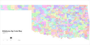 Zip Code Mapping by Oklahoma Zip Code Maps And Map Ok With Yukon Pawhuska Bartlesville