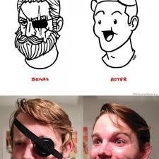 Shaving Meme - shaving before after meme in real life