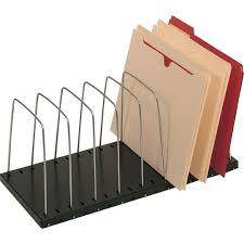 Safco Desk Organizer by Lit Ning 8 Slot Adjustable Desk Organizer Quill Com