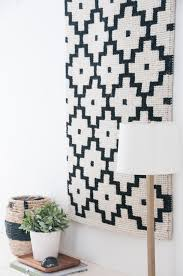 Hanging Rugs On A Wall Easiest Diy Wall Hanging