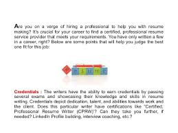 Making The Best Resume by Top Reasons To Choose The Best Resume Writing Service Provider