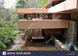 fallingwater a view of the famous u0027fallingwater u0027 mansion by the late us