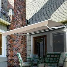 Patio Door Awnings Extraordinary Shade Patio Door Awning Wning Replacement Cover