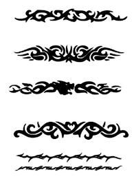 tribal armband designs for cool tattoos bonbaden