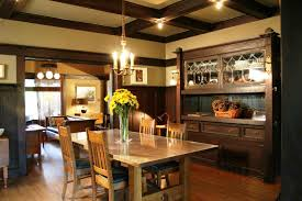 Craftsman Style Dining Room Furniture by Remodeling Your Kitchen By Using Mission Style Decorating