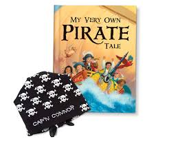 personalized children u0027s books my very own pirate tale gift set