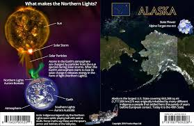 northern lights sun l amazon in buy alaska northern lights guide card aurora borealis