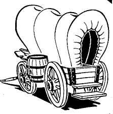 wagon coloring pages wagon coloring page in covered wagon coloring