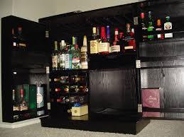 Black Bar Cabinet Cocktail Bar With Liquor Cabinet Ikea U2014 Optimizing Home Decor Ideas