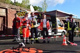 Drk Bad Kreuznach Feuerwehr Drohne Katastrophenschutz Und Behörden Mit