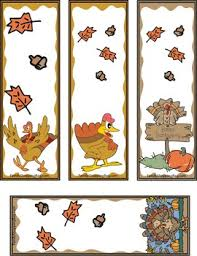 printable thanksgiving bookmarks happy thanksgiving