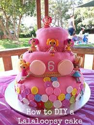 how to make a diy lalaloopsy birthday cake gee you u0027re brave