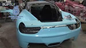 fake ferrari fail spanish police bust counterfeit ferraris u0026 lambos u0027kitcars factory