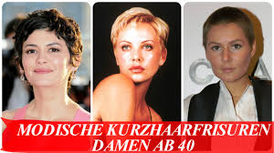 Modische Kurzhaarfrisuren Frauen by Modische Kurzhaarfrisuren Damen Ab 40