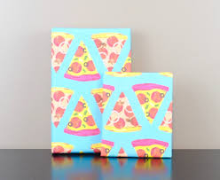 gift wrap paper rolls pizza wrapping paper roll of 2 sheets gift wrap pizza