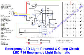 emergency led lights powerful u0026 cheap led 716 circuit