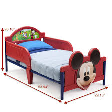 Mickey Mouse Chairs Disney Mickey Mouse 3d Toddler Bed Toys