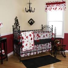 Nightmare Before Christmas Baby Crib Bedding by Gothic Baby U2014 Juvenile Hall Design