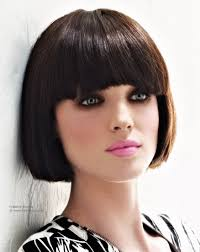 beveled bob haircut pictures classic short bob with a rounded fringe and beveled cutting line