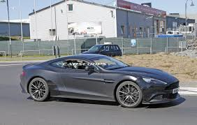 used aston martin ad aston martin spied working on final vanquish s model