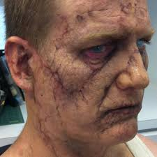 halloween zombie makeup tips zombie makeup on ian roberts as chaz sr from freaks of nature