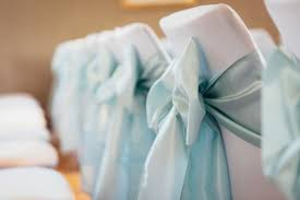 bows for chairs a guide to wedding chair sashes and bows hitched co uk