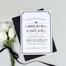 Art Deco Wedding Art Deco Wedding Style Notonthehighstreet Com