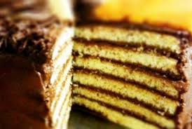 traditional jewish seven layer cake joy of kosher