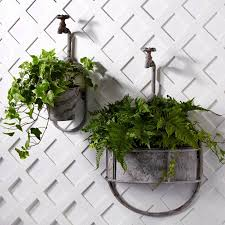 Garden Wall Planter by Vintage Garden Tap Planter Add A Whimsical Touch To Your Garden