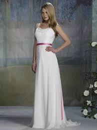wedding dresses with sash ribbon 150 99 cost efficient applique sash ribbon spaghetti straps
